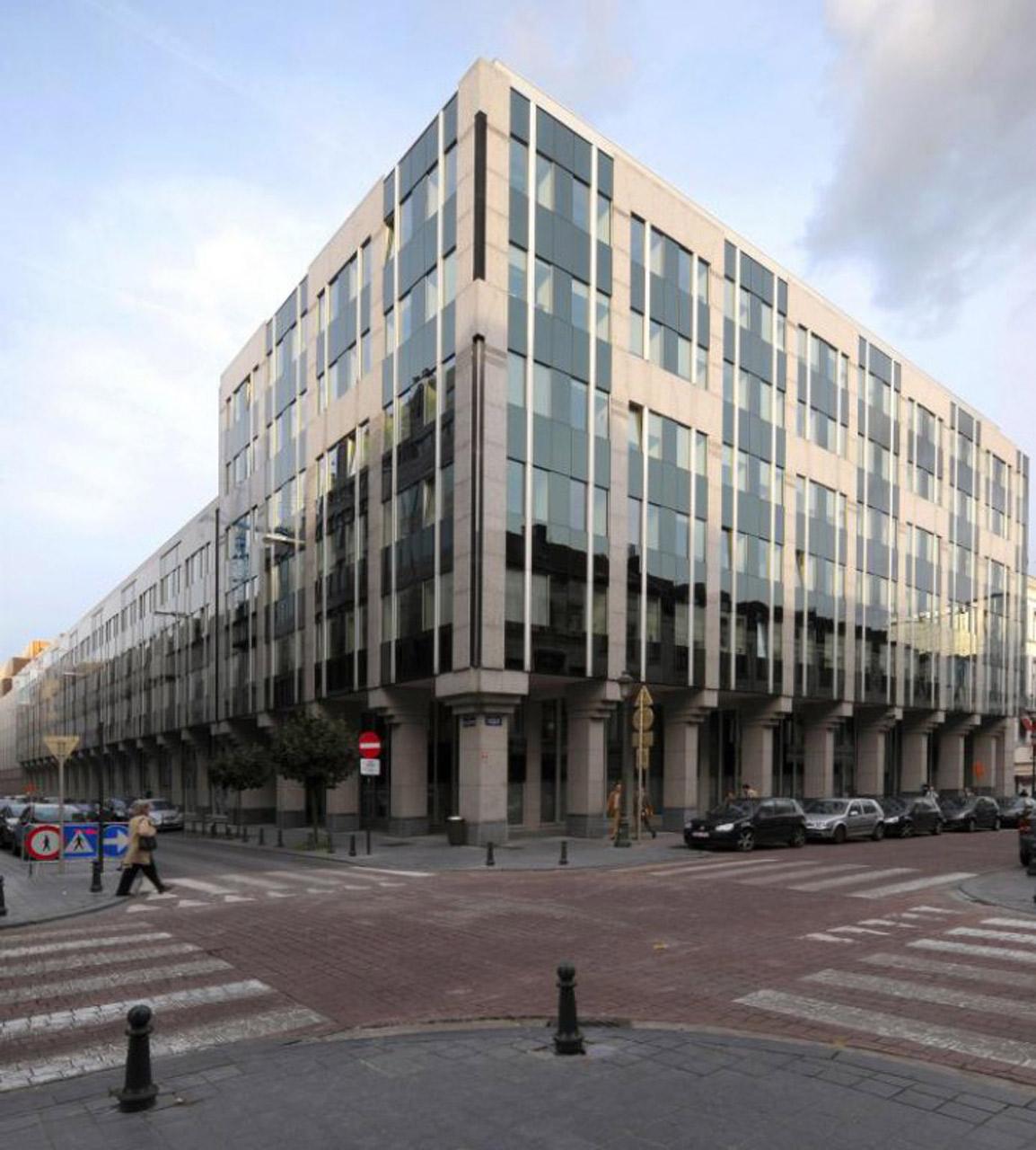 ATENOR Projet Luxbourg Bruxelles Vue Depuis Carrefour