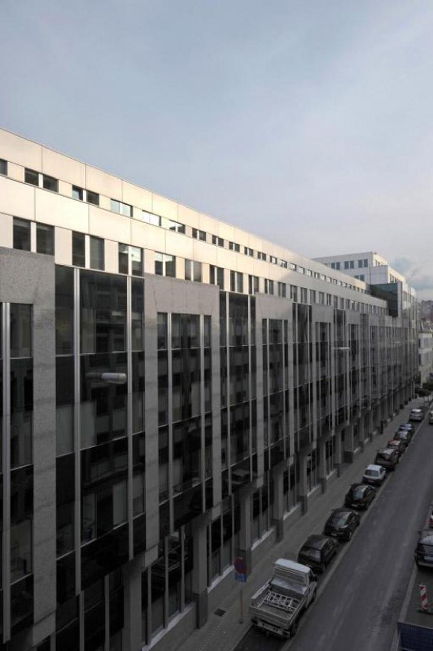 ATENOR Projet Luxbourg Bruxelles Vue De Coté
