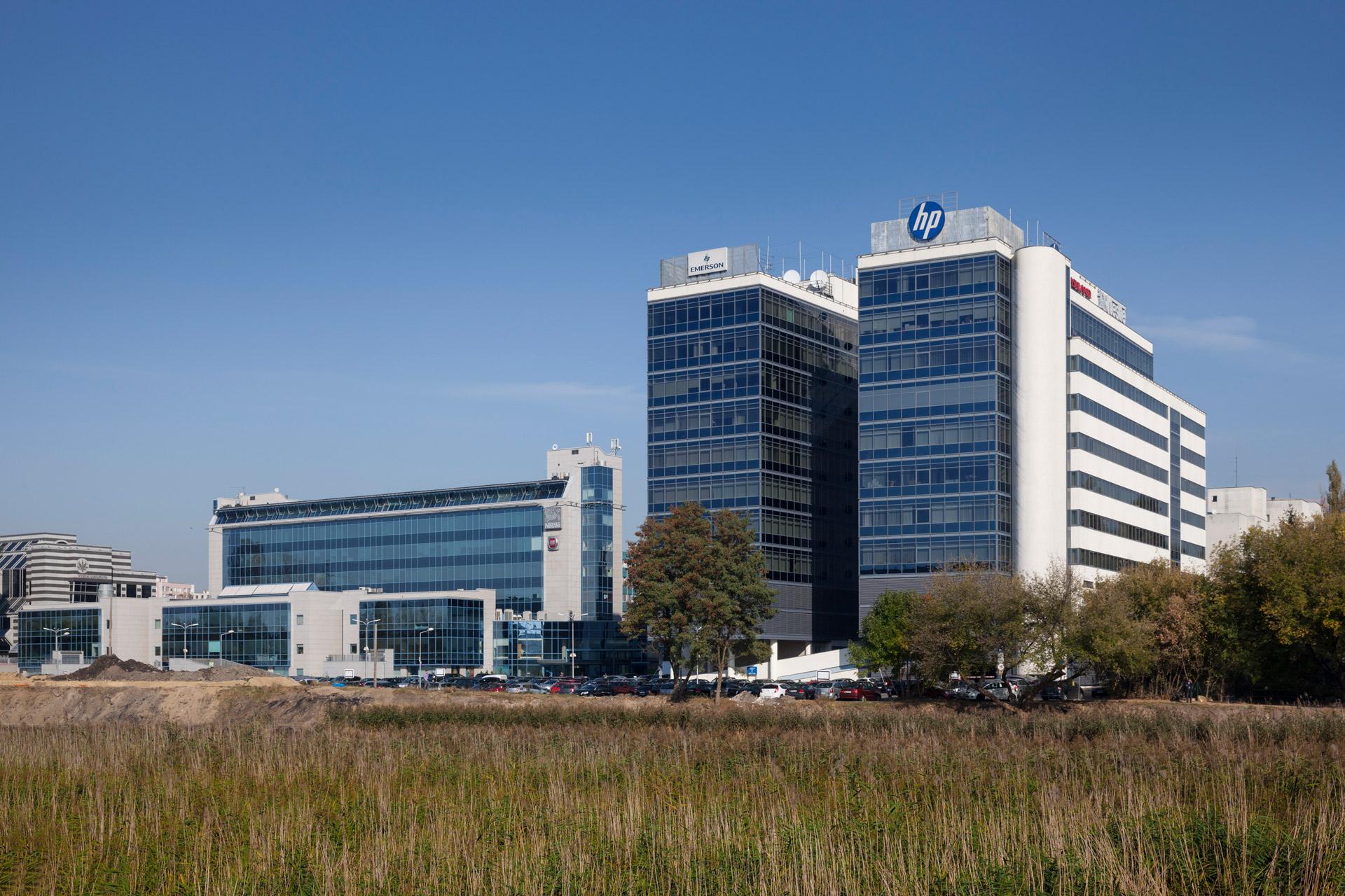 ATENOR Projet Univeristy Business Center Varsovie Vue Latérale